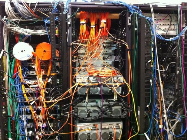 servers and wiring